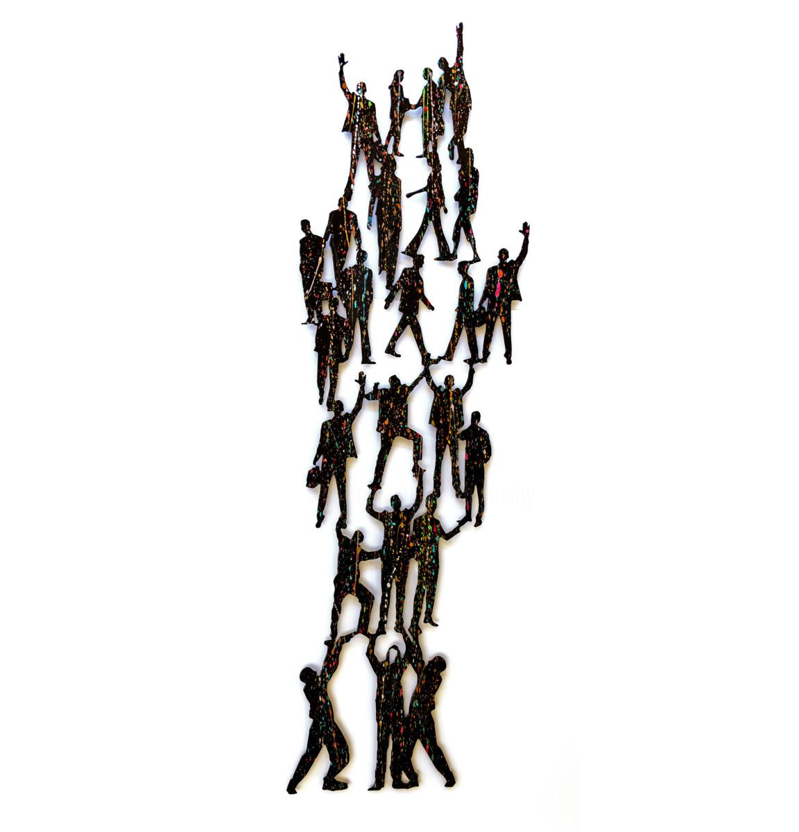 Human Pyramid Uri Dushy Human Pyramid Sculpture Pyramids
