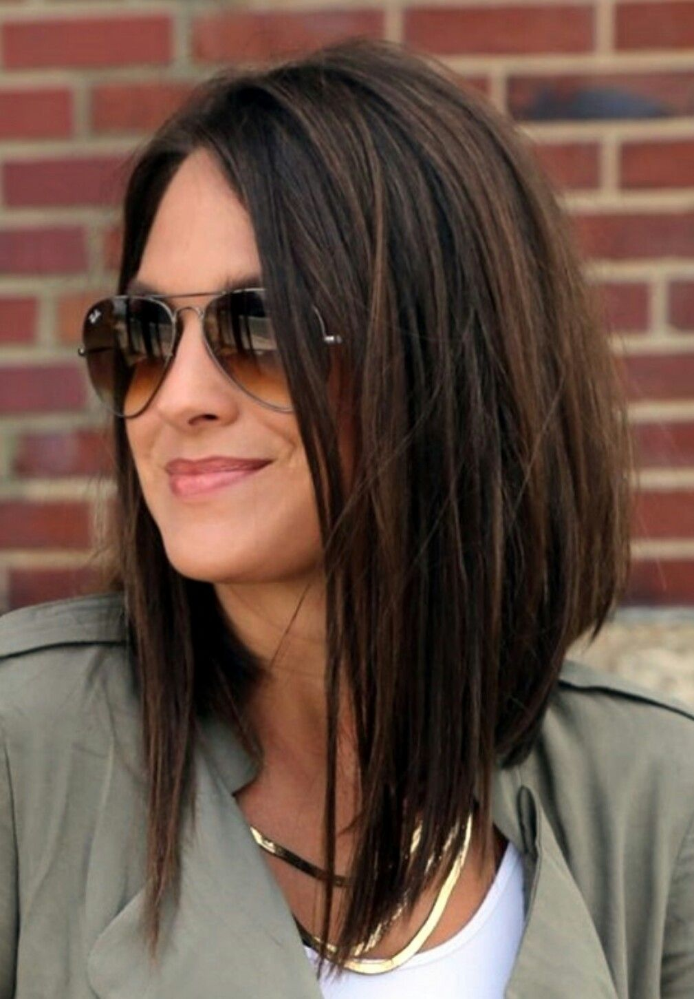 Women's Long Hairstyles Entrancing Love This Cut Just Need To Find The Guts To Actually Follow