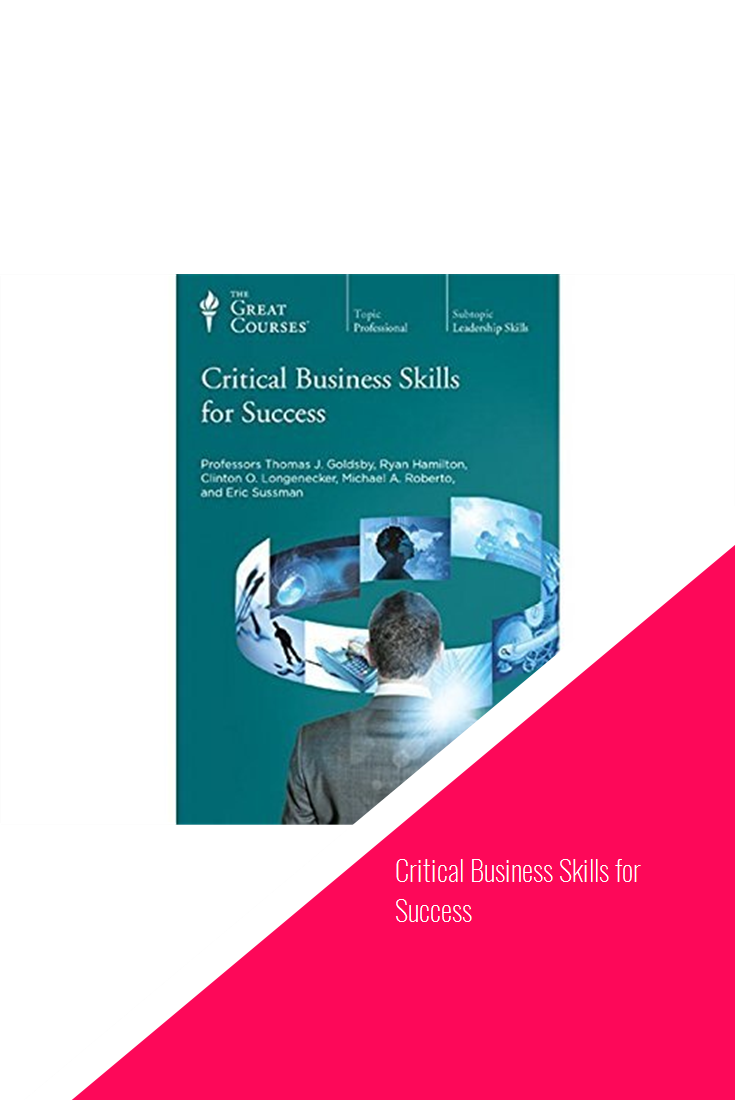 Critical Business Skills for Success #software | Software in 2019