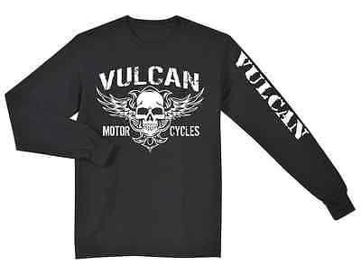 Kawasaki Vulcan Nomad Voyager Black T Shirt Long Sleeve Men S