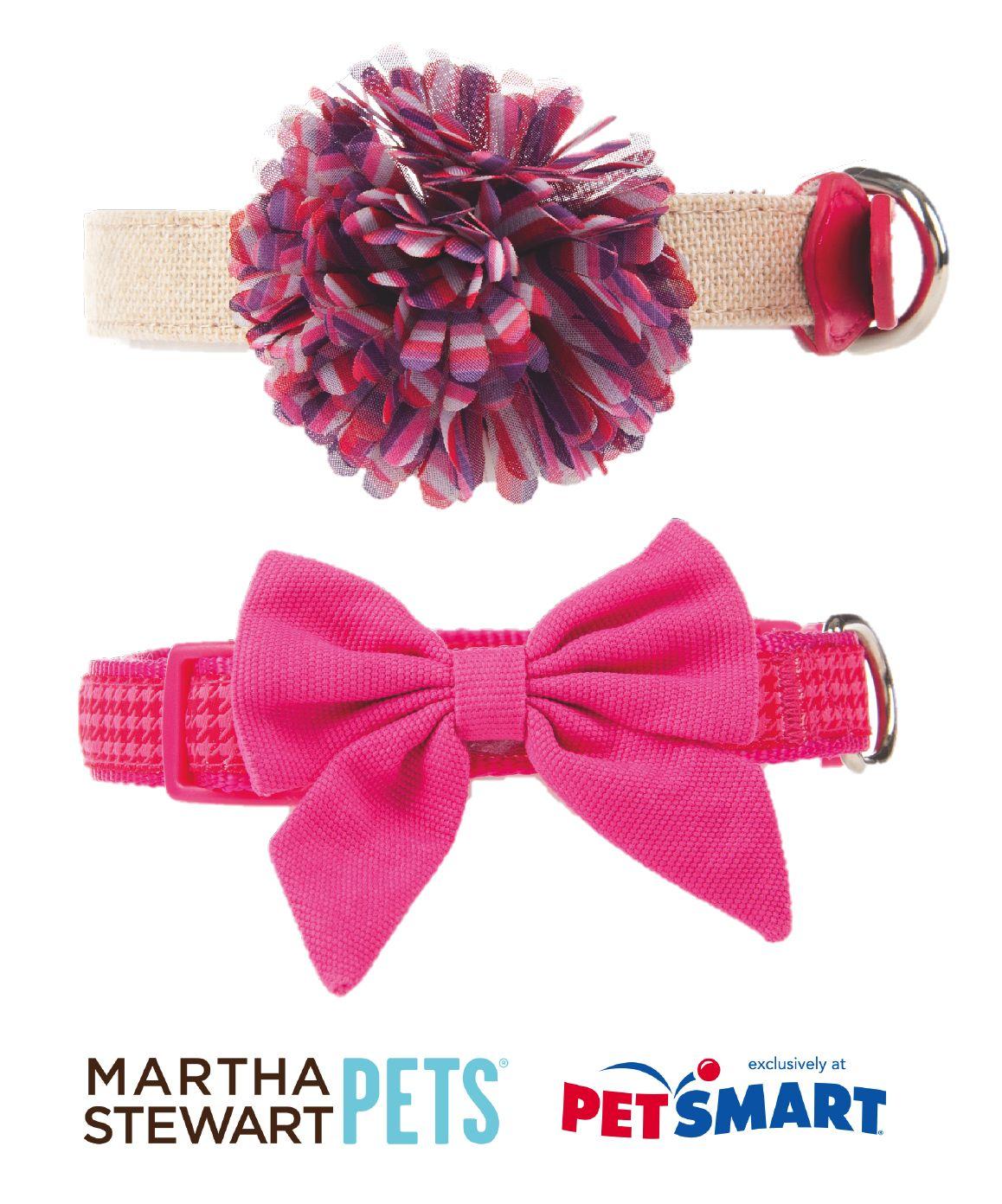 Perfectly Pink Dog Collars By Marthastewartpets Martha