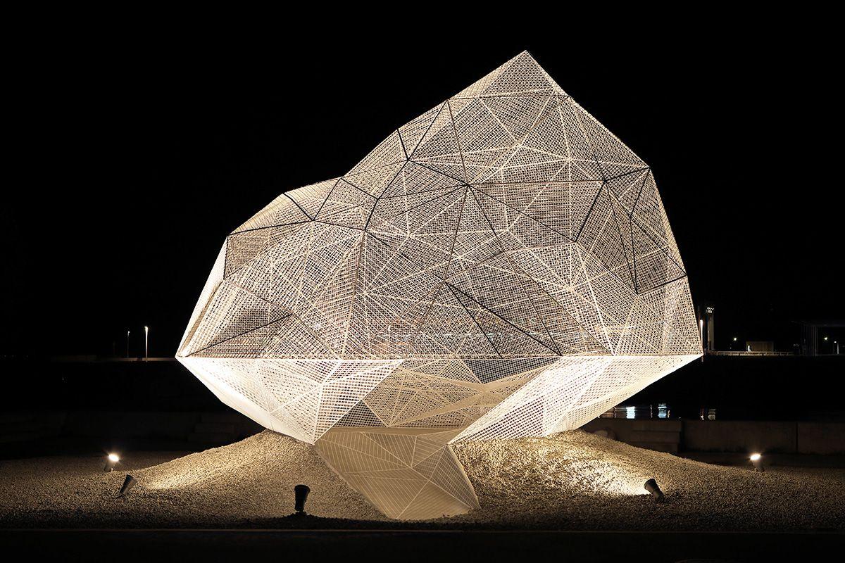 Sou Fujimoto's Naoshima Pavilion explores different spatial experiences with its…