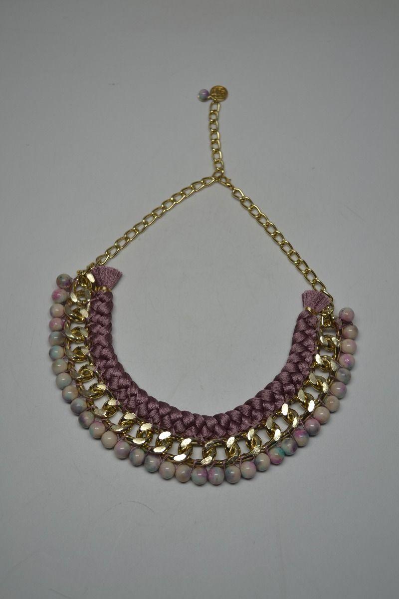 785d86a63774 collar hecho a mano con piedra natural