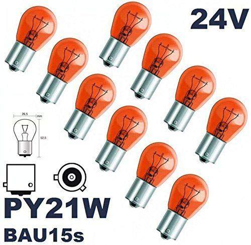 Amazon Beleuchtung Campingzubehor Gluhbirnen Gluhlampen Kfz Leuchtmittel 24 Volt 10 Stuck Py 21w Bau Wohnzimmeruhren Wohnzimmerfliesen Gluhlampe