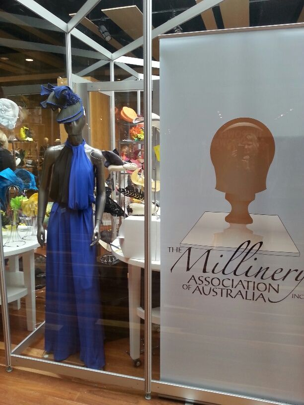 My Hats Are Available For Sale At Spring Time In The Millinery Association Of Australia Pop