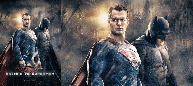 gratuit crer un compositing photoshop daffiche batman v superman - Batman Gratuit