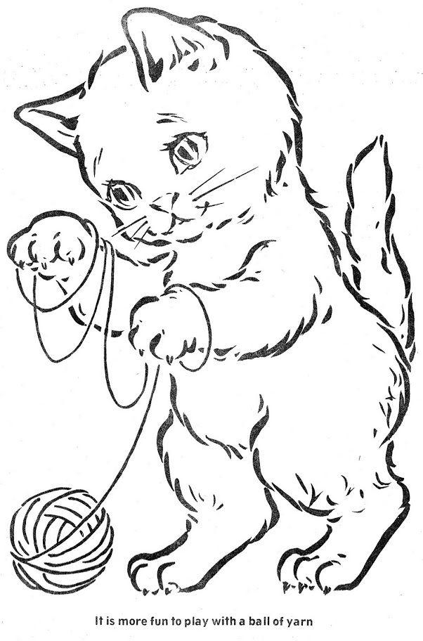 Coloring Book The Three Little Kittens Bonnie Jones Albuns Da