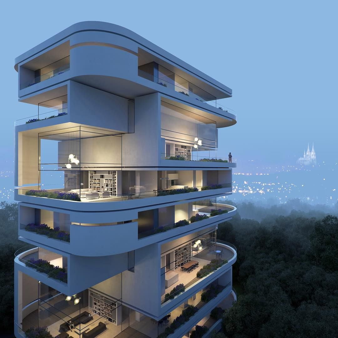 Panoptikon rendering for hadi tehrani gute visualisierung for Architektur design studium