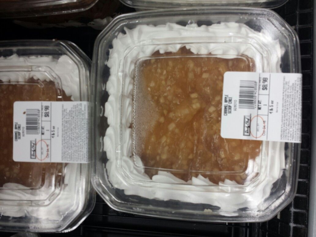 Sam S Club Caramel Apple Scoop Cake