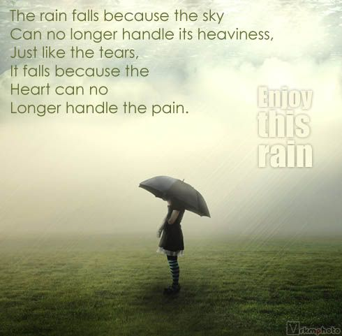 Beautiful Rain Quotes Enjoy Rain Rainy Season Orkut Scraps E