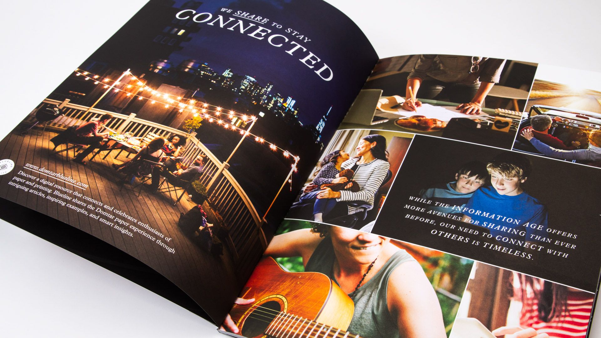 Domtar Share On Cougar  Promotional Brochure Design And Layout