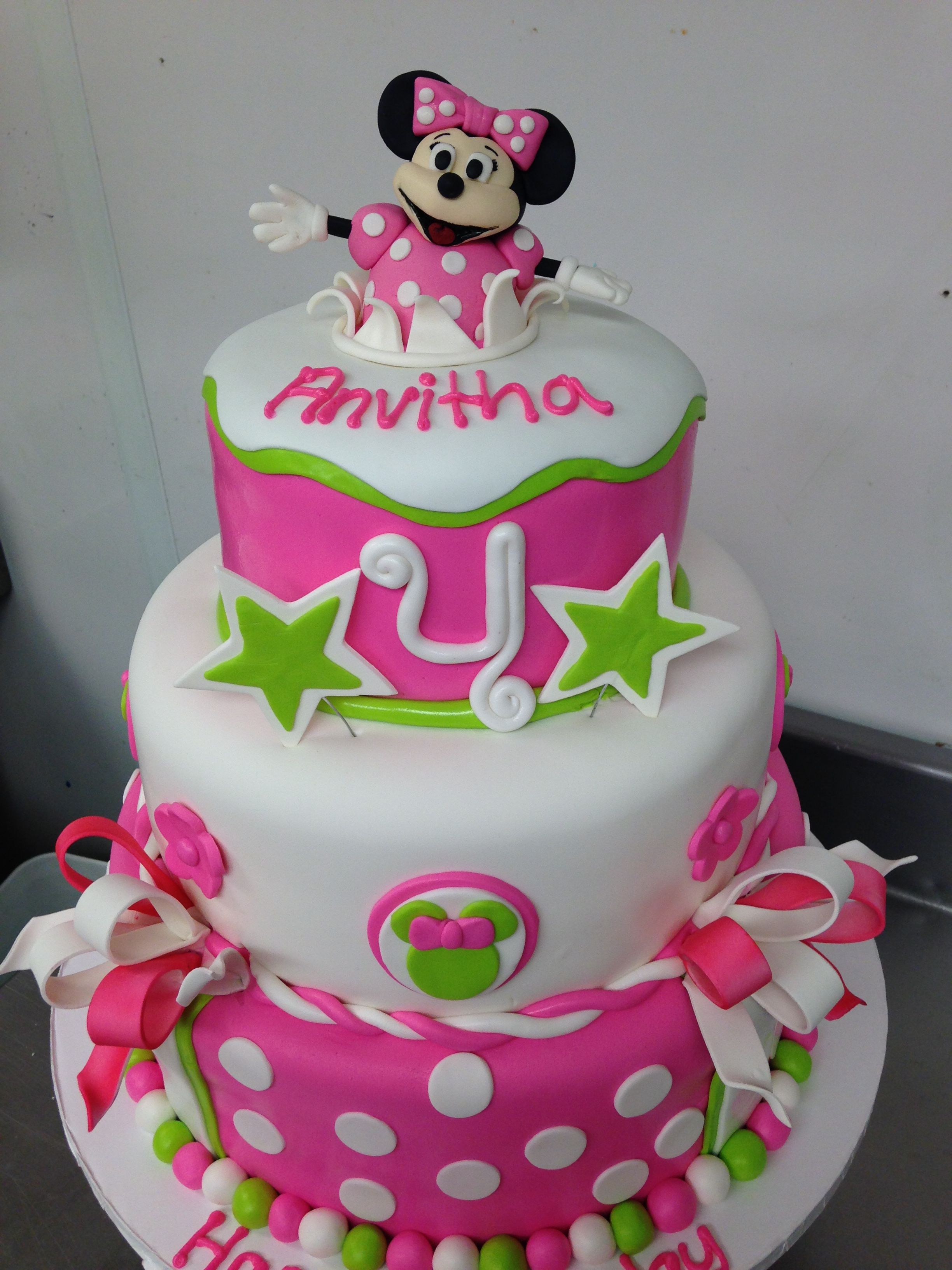 minnie mouse cake decorating videos