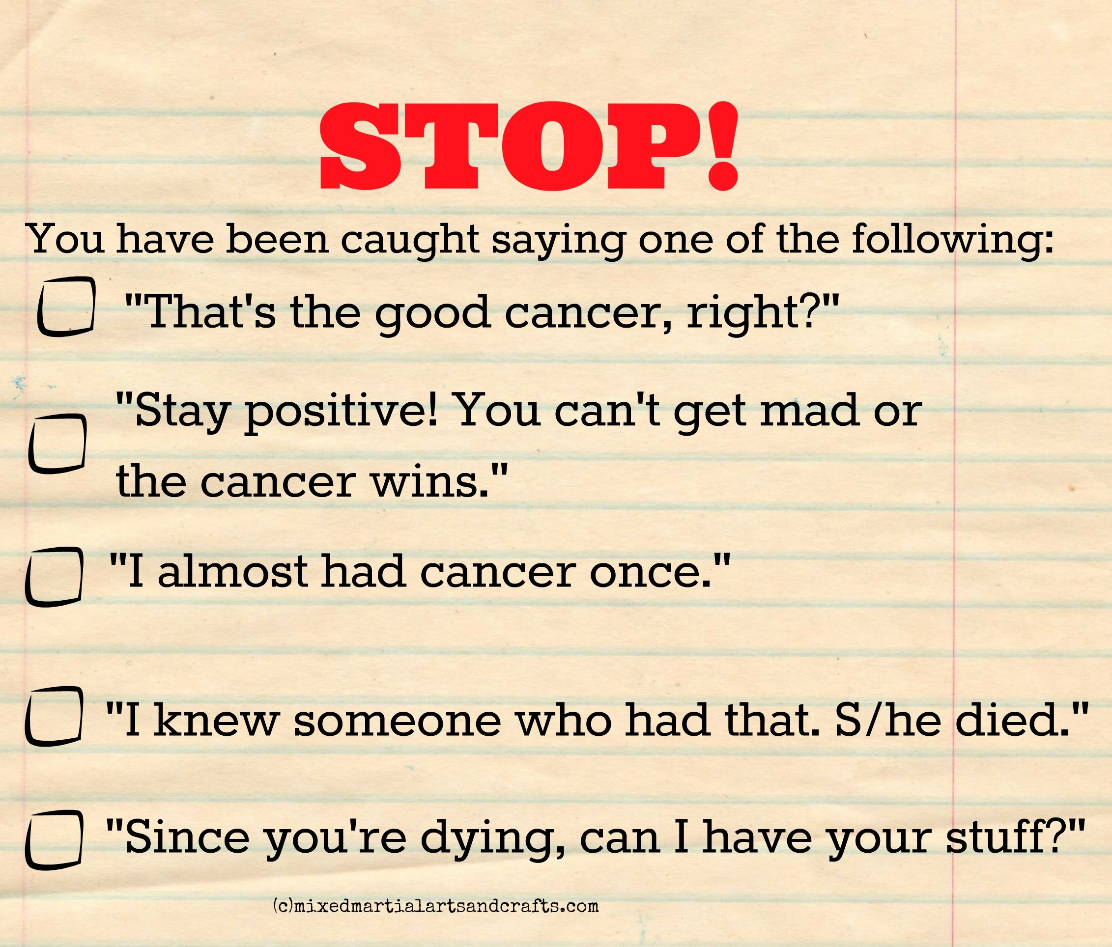 Online dating for cancer patients