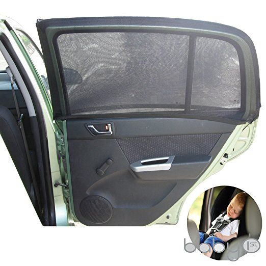 4cd80be27e4 Sun Shade Sox Universal Fit Baby Rear Car Side Window Sun Shades (PACK OF  2) For Kids ARPANSA TESTED. Baby Sun Shades For Cars Best ...