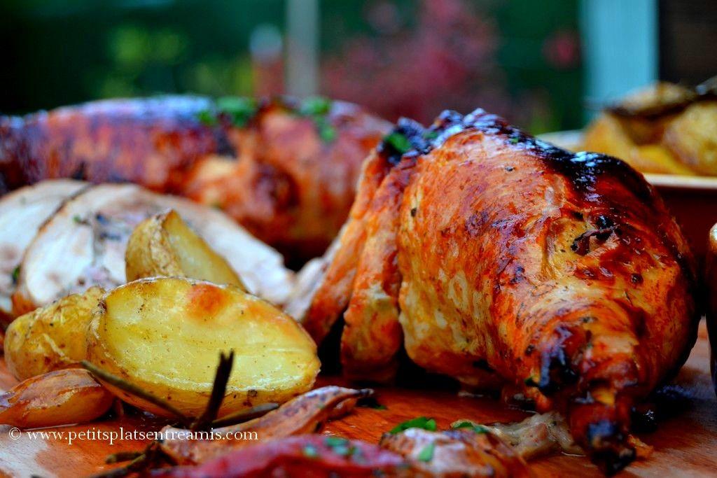Photo of Stuffed leg of turkey