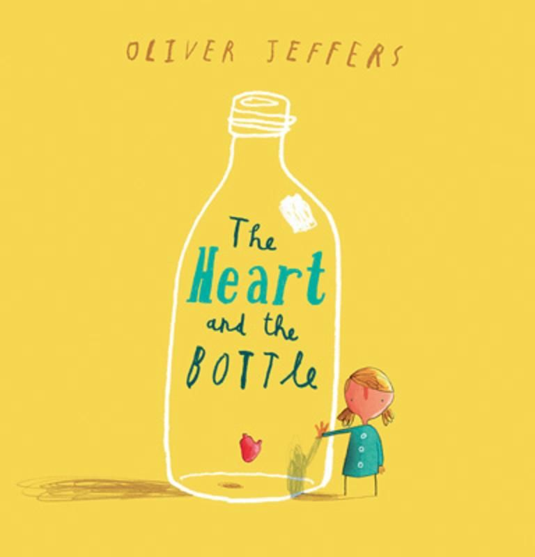 The Heart and the Bottle by Oliver Jeffers // at Darling Clementine