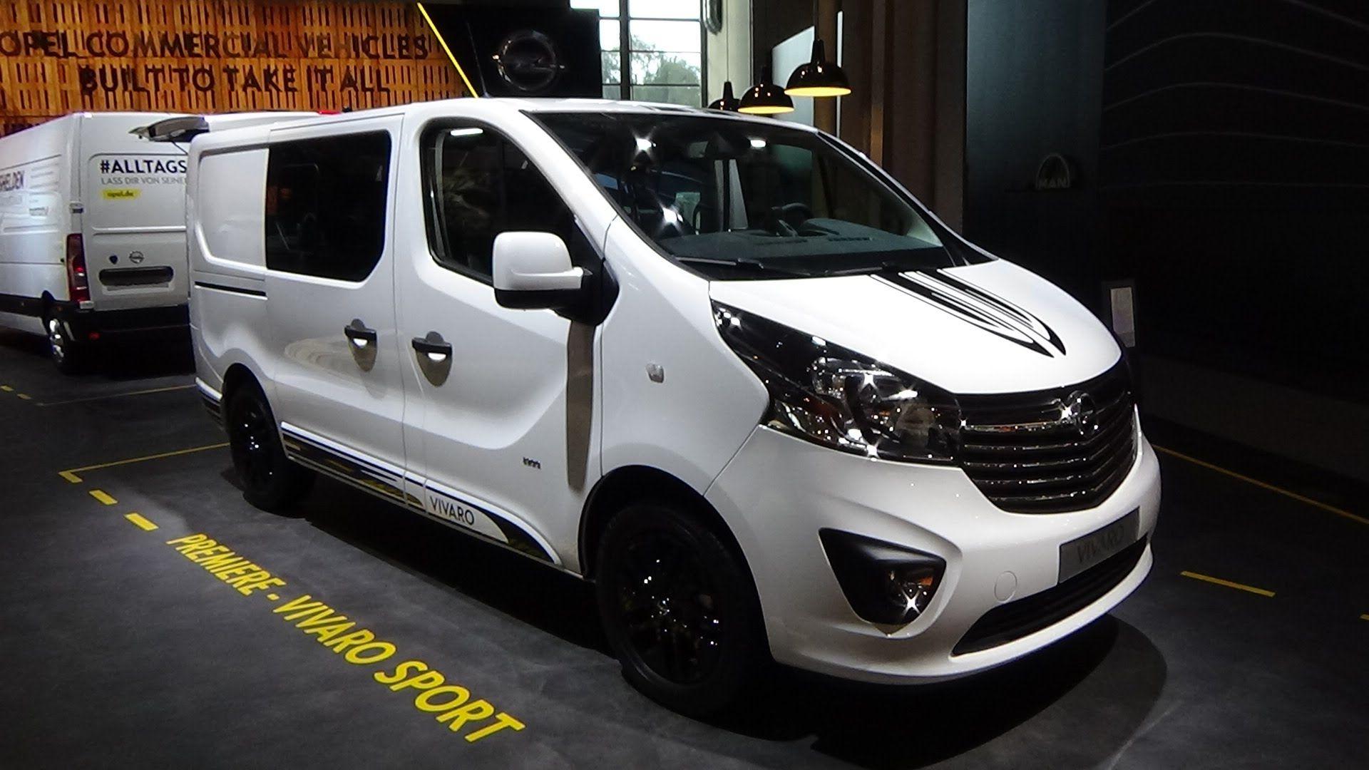bc65ece8ed 2017 Opel Vivaro Sport - Exterior and Interior - IAA Hannover 2016 ...