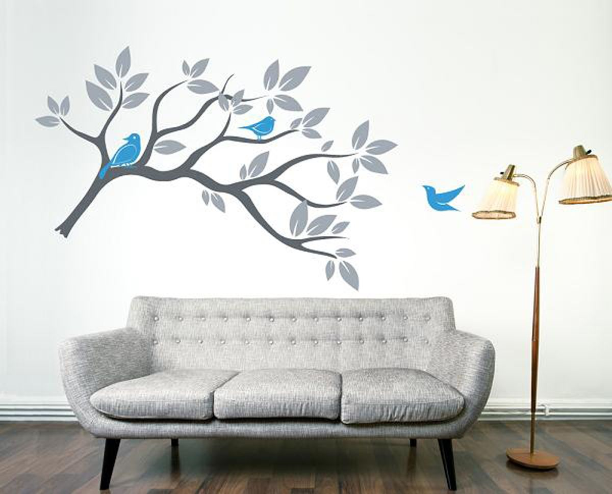 37 best paint tree images on Pinterest | Home, Wall paintings and ...