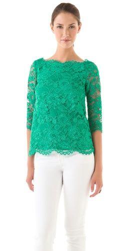 leaf green lace/