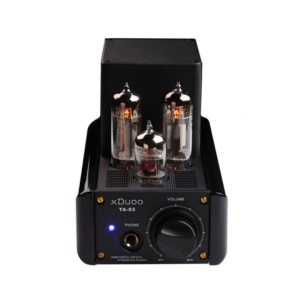 XDUOO TA-03 24Bit/192KHz WM8740 XMOS USB DAC  12AU7+6C19 Tube Headphone Amplifier    #xduoo #dac #usb #amplifier #headphone #xmos #wm8740 #12AU7 #Aliexpress