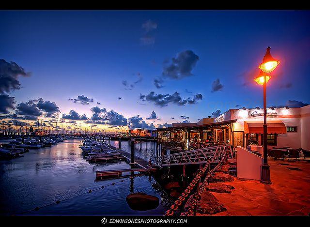 The Marina at Playa Blanca