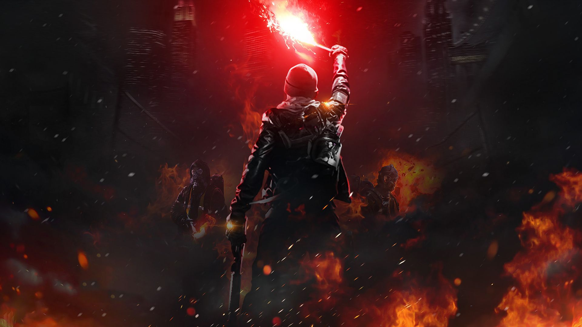 Masked Soldiers Dark Fire Tom Clancy S The Division Online