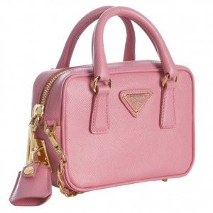 f8501b8e5dd3 pink prada mini bag- would I die to have this? I might | Clothes ...