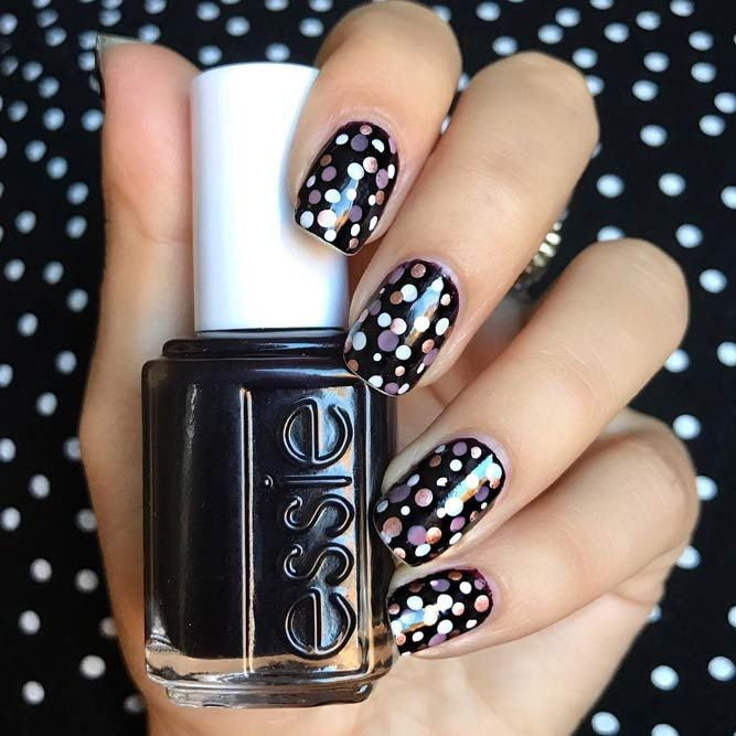 21 Nice Nails Designs With Cute Dots Nice Nail Designs Manicure