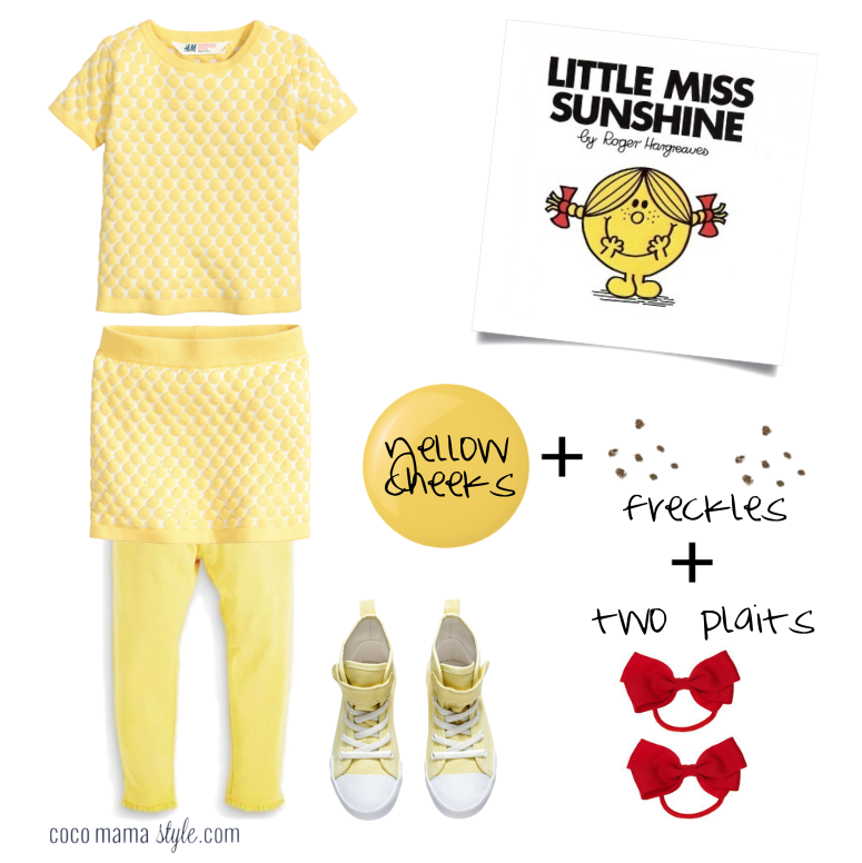 5 Easy Mr Men Little Miss Outfits For World Book Day Easy Book Week Costumes Easy Book Character Costumes Kids Book Character Costumes