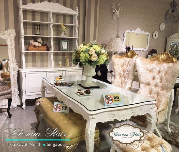 French Chic Dining Sets By Victorian Flair