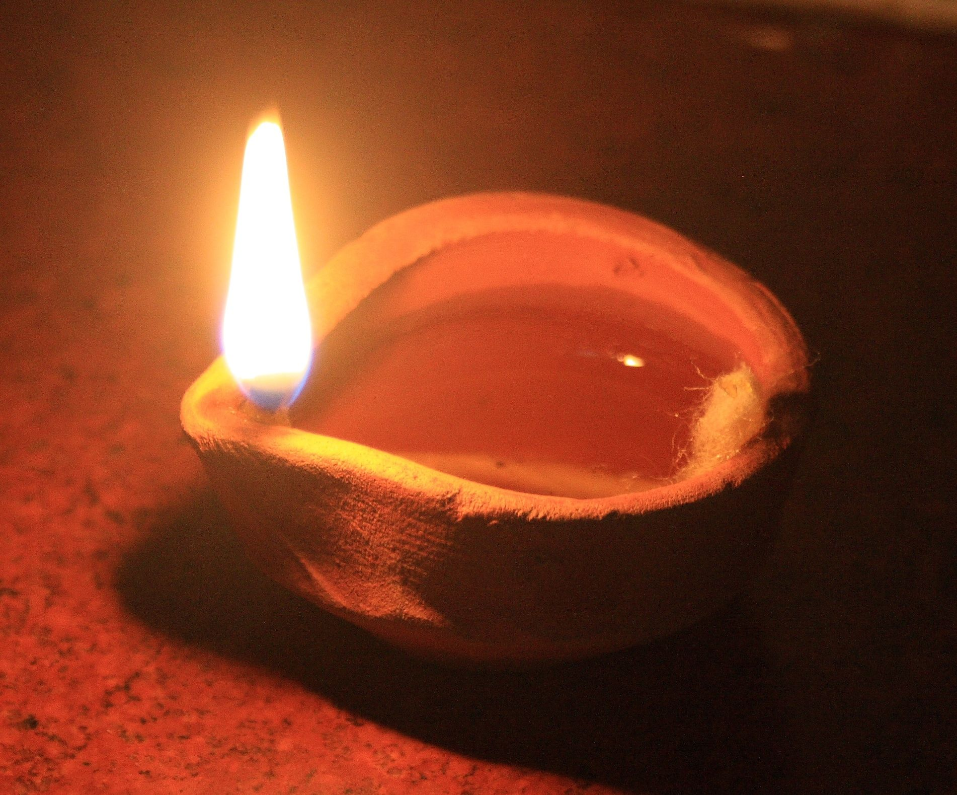 The Divine Spark Oil Lamps Alabaster Jar Diwali Lamps