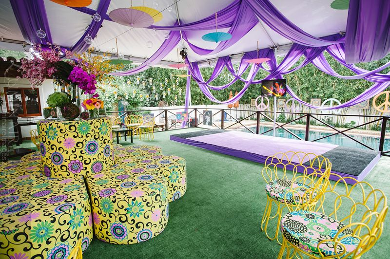 events 60s Hippie themed birthday party Pasadena party