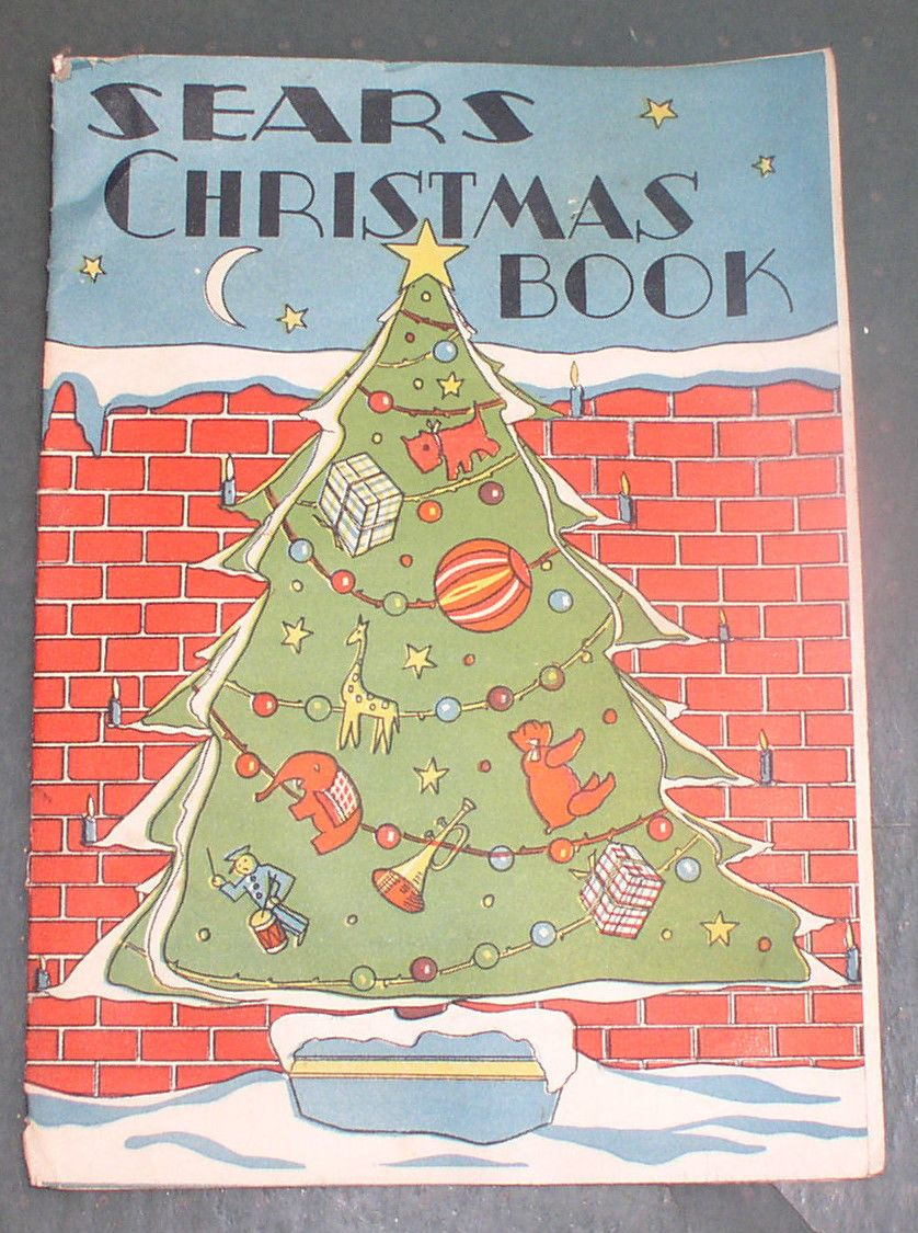 1940s sears christmas book toys coloring topsy turvy doll catalog ebay