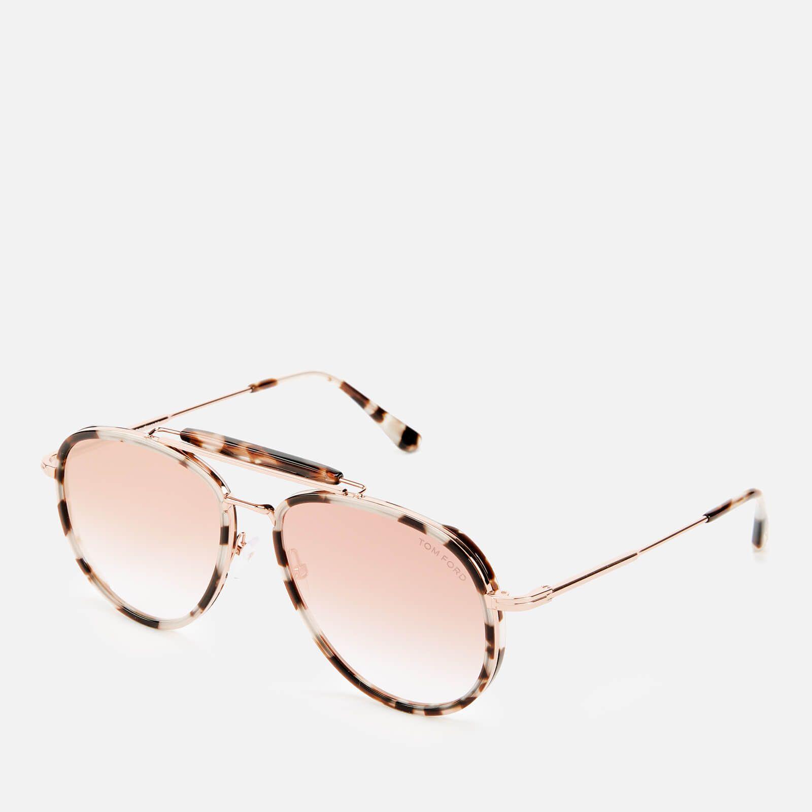 Tom Ford Women's Tripp Sunglasses - Coloured Havana/Gradient