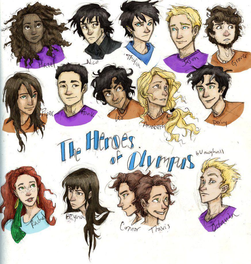 Heroes of Olympus | Percy Jackson | Pinterest