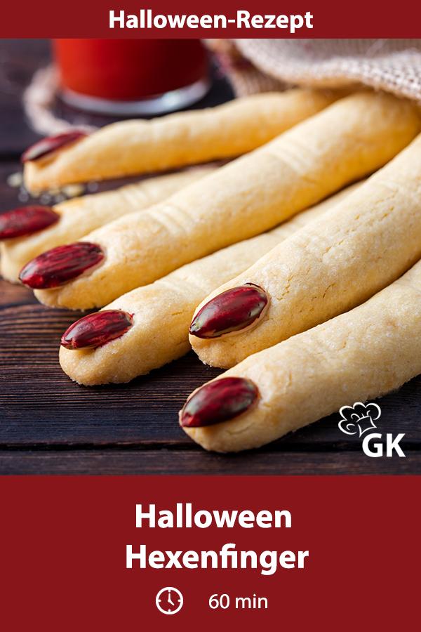 Halloween Hexenfinger Rezept Rezepte, Einfach backen