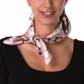 little silk scarves- so cute, and so perfect for accessorizing basic work tops