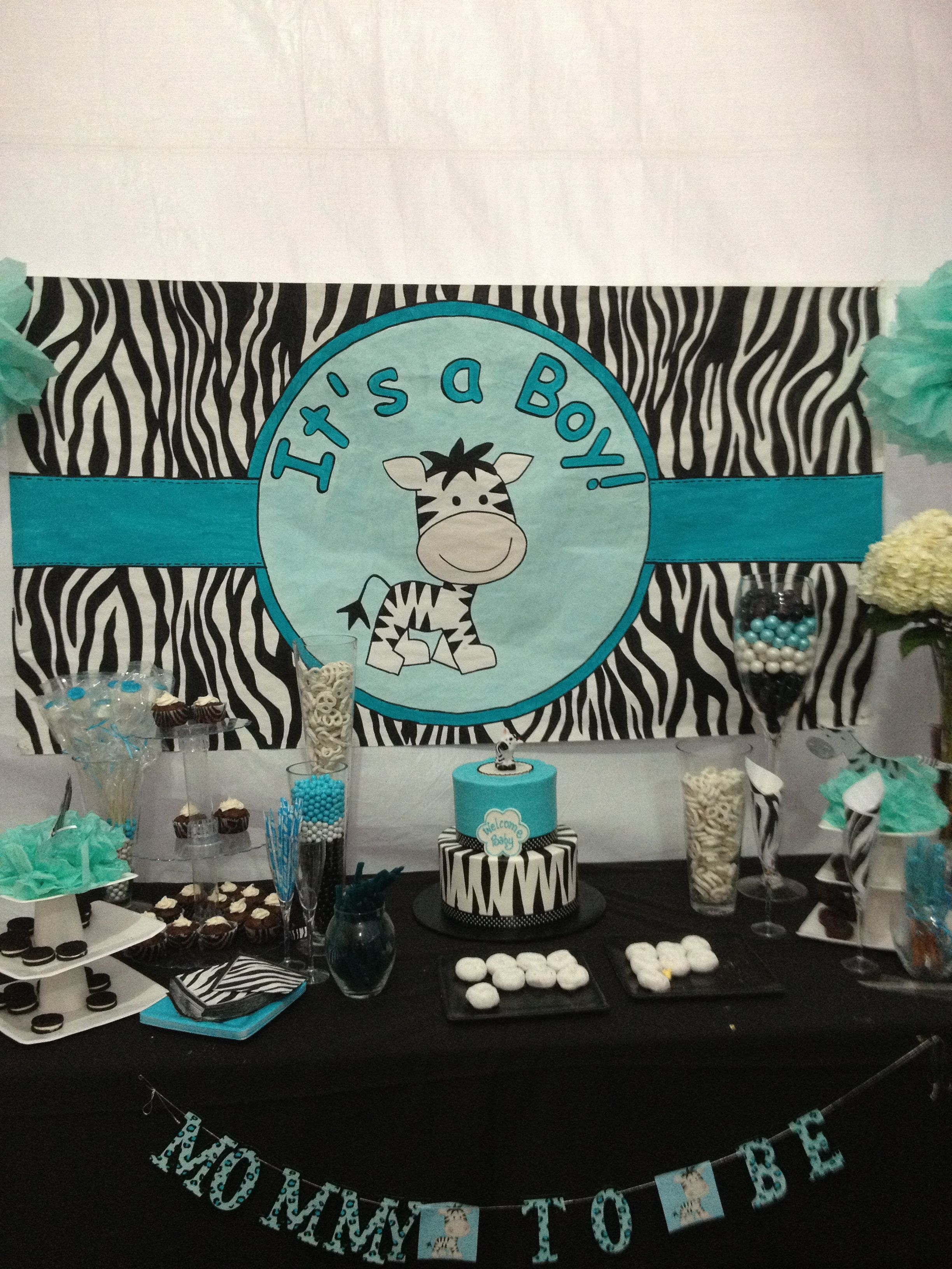 Zebra Baby Shower Could Be Pink Or Purple For A Girl It S A