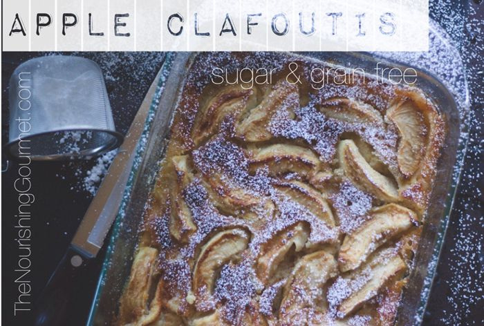 Apple Clafoutis (grain-free and naturally sweetened)