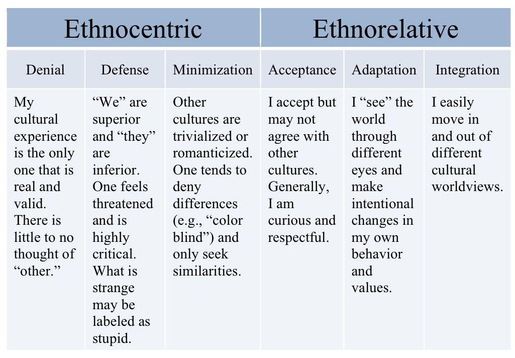 DMIS is the Developmental Model of Intercultural Sensitivity