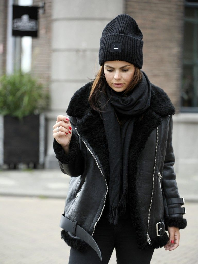 b15e19339731 acne velocite shearling jacket   Things to Wear   Mode, Hivernal