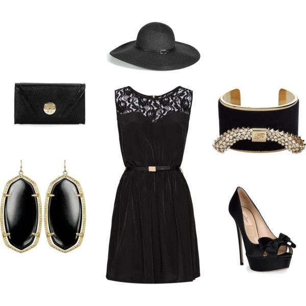 Little Black Dress, created by catherinewitte.polyvore.com