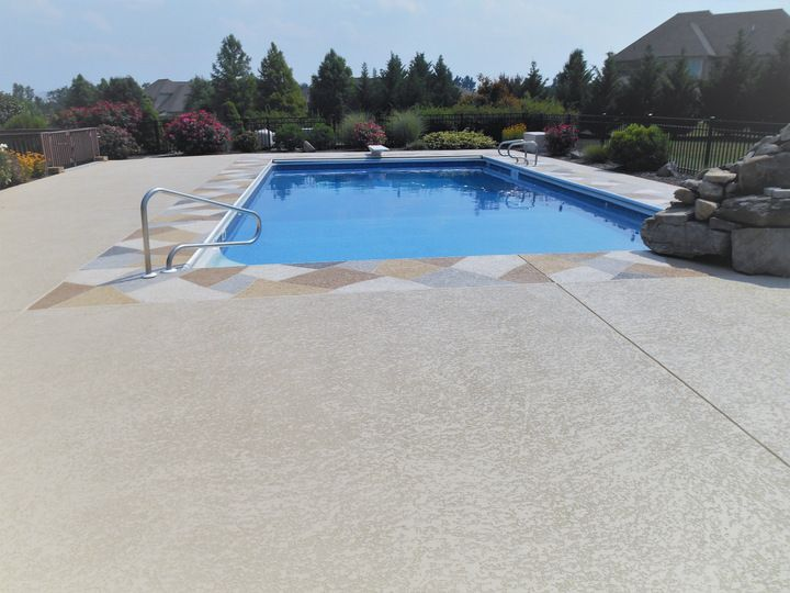 Check Out This Cool Deck Overlay It Is Slip Resistant Cool To