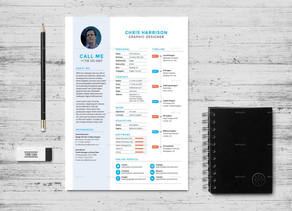 Professional Web Developer Resume Template  Web Developer Resume Template