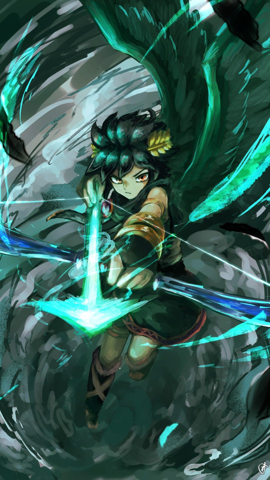 Kid Icarus Dark Pit You Wont Escape From My Arrow