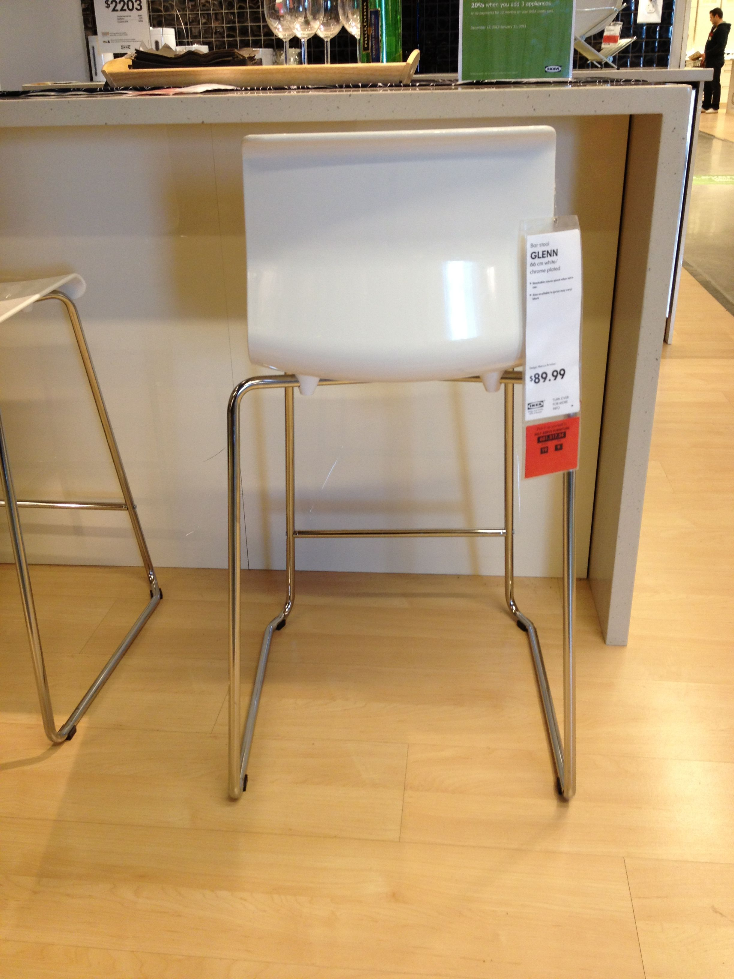 Pleasing Ikea Glenn Bar Stool 66Cm 89 99 Bar Stools Ikea Home Gmtry Best Dining Table And Chair Ideas Images Gmtryco