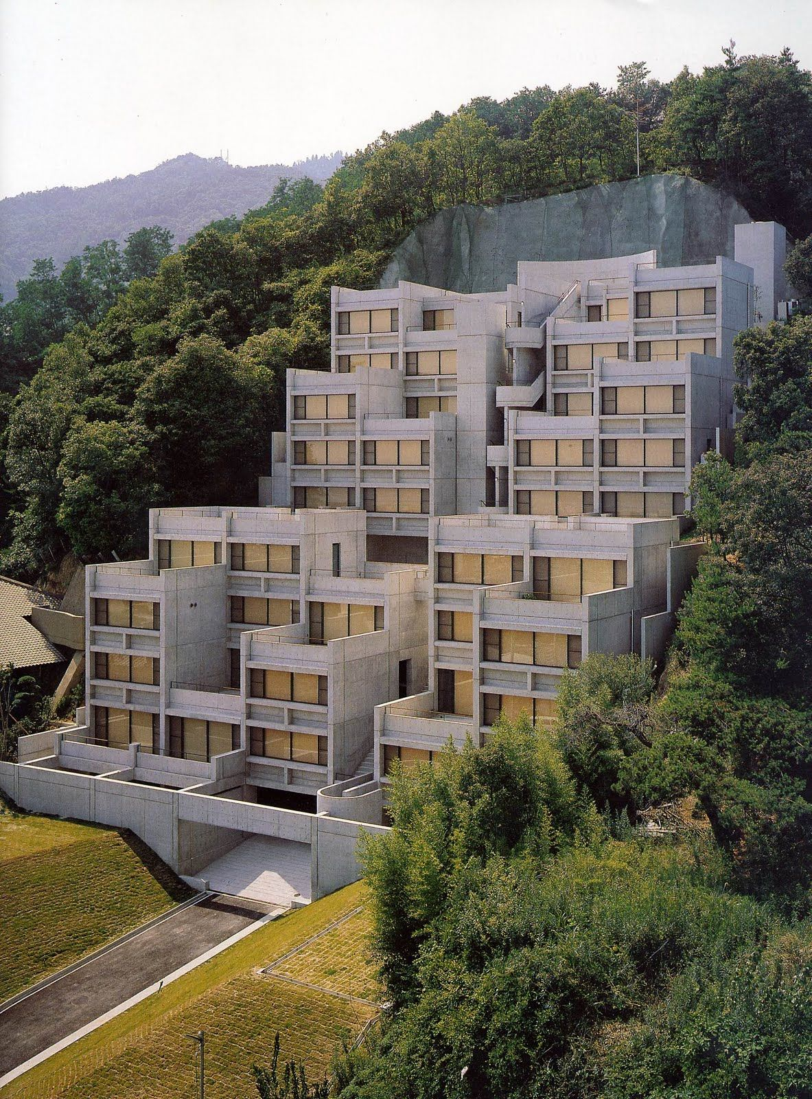 Ando tadao rokko house pinterest - Tadao Ando Rokko Housing Ando Architecture Tadao Pinned By Www Modlar