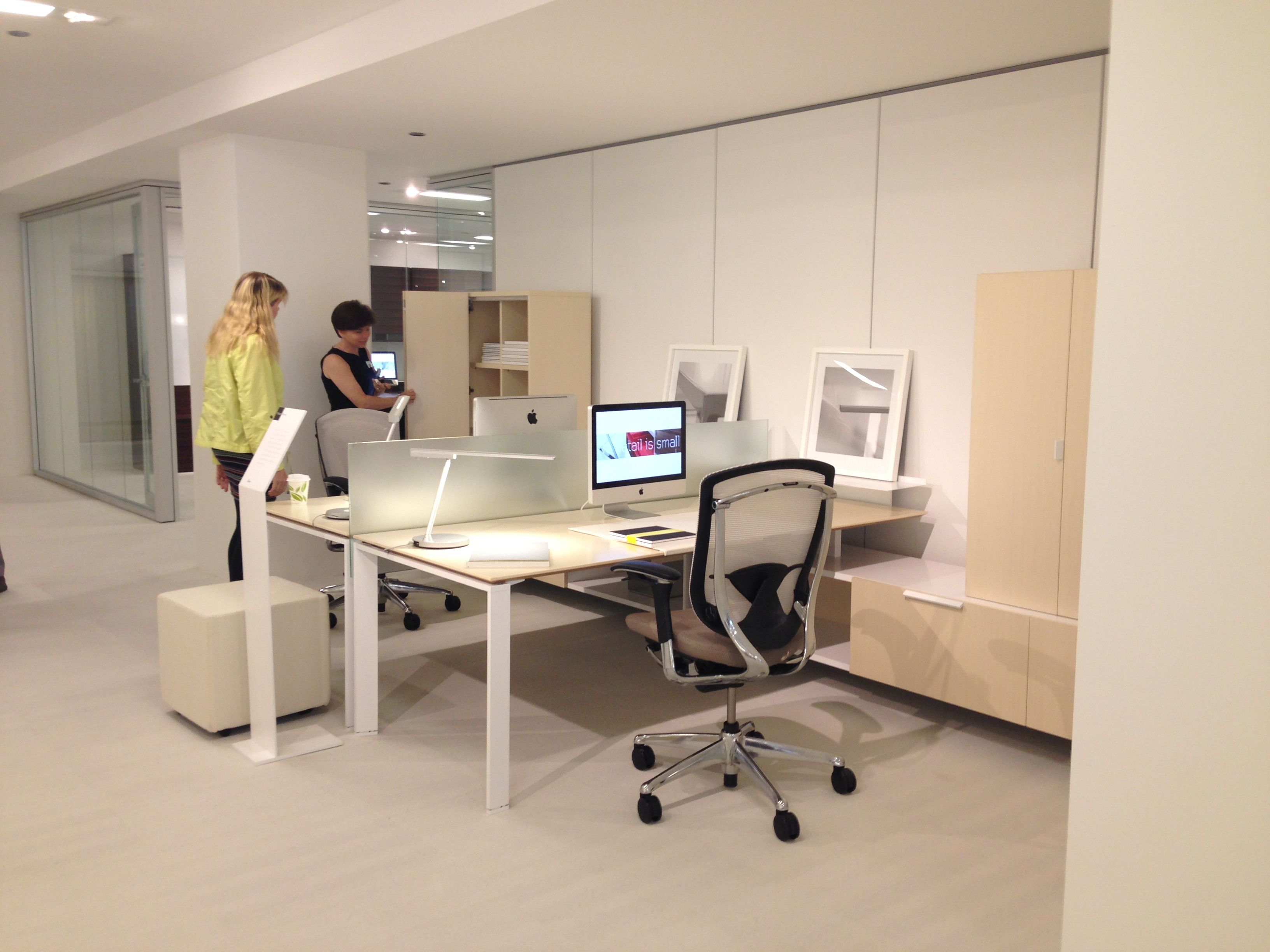 Teknion District NEOCON 2013 SystemsWorkstations Pinterest