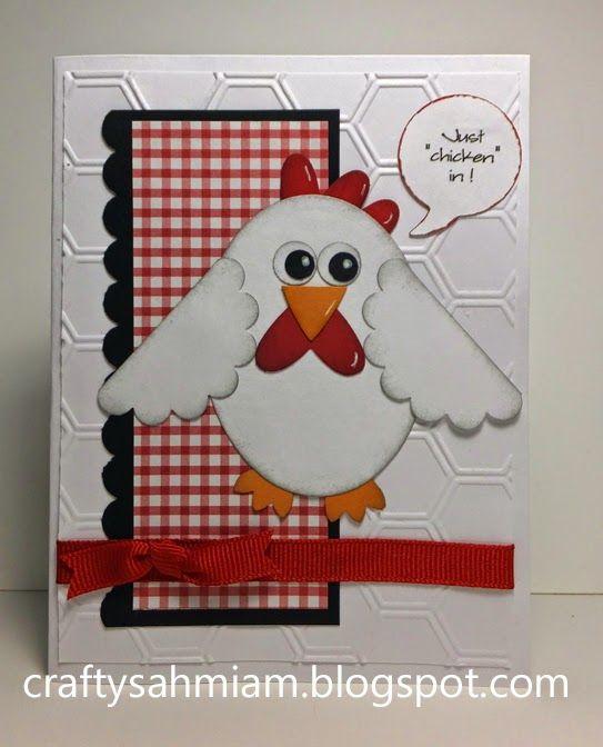 """crafty sahm i am: OWH sketch Challenge 247 - Just """"Chicken"""" In"""