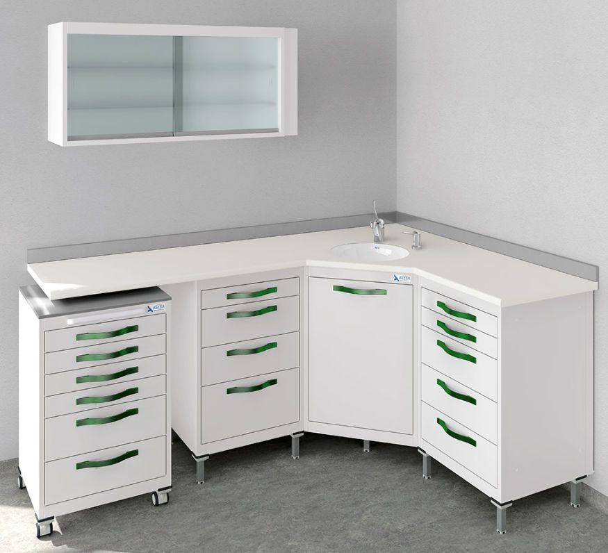 Storage cabinet / for dental instruments / for dental ...